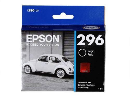 Epson t296 cartucho de tinta para xp-431/xp-231 4ml, negro