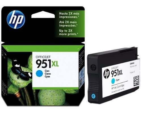 Hp cartucho 951 xl cyan officejet 8100 8600 8610 cn046al