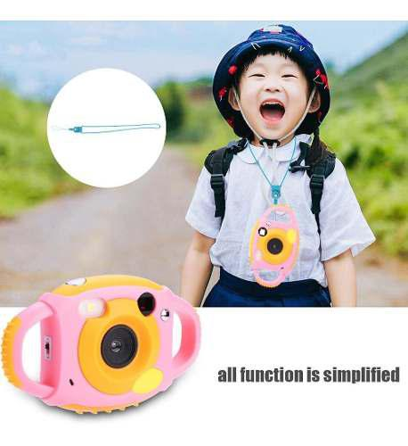 Mini cámara de video digital amkov de juguete p/niños