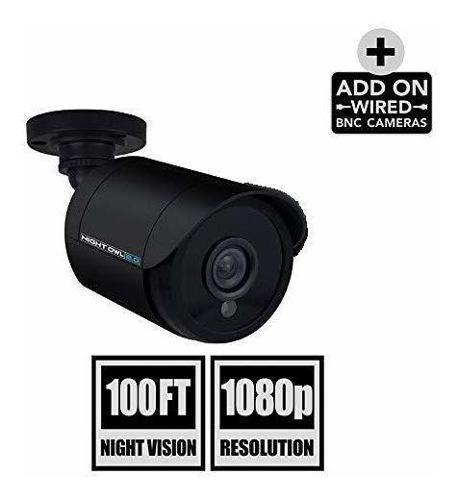 Night owl security 1 pack cámara hd analógica 1080p