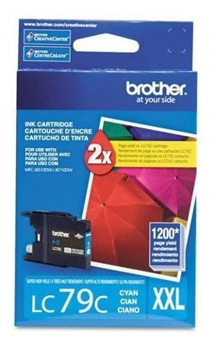 Tinta brother lc79c cyan 1200 pag súper alto rendimiento