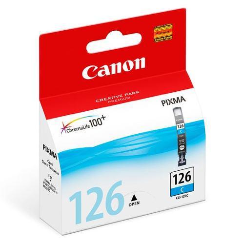 Tinta canon lci126c lci126c color cyan