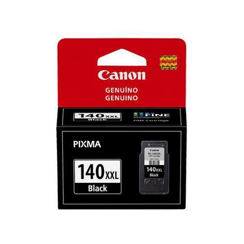 Tinta canon pg 140xxl 140xxl color negro