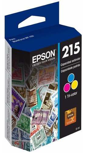Tinta epson 215 t215520-al color tricolor wf-100