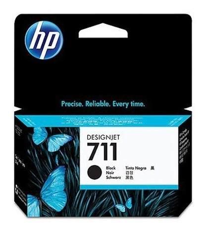 Tinta hp 711 cz129a color negro