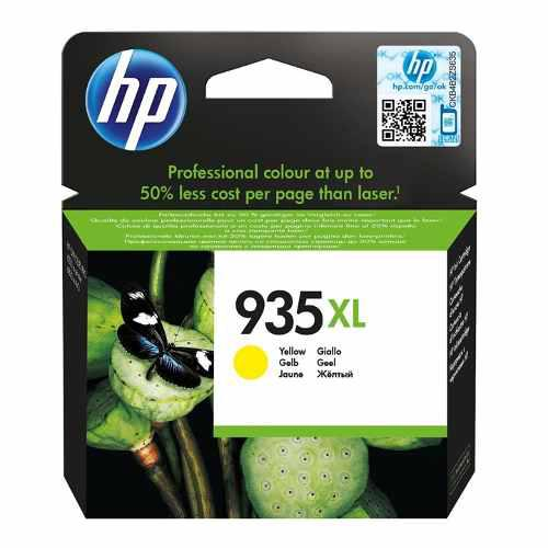 Tinta hp 935xl c2p26al color amarillo alto rendimiento