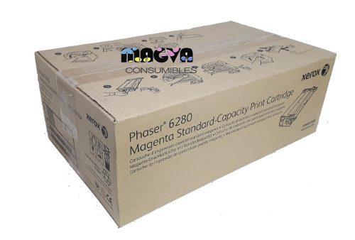 Toner xerox 6280 106r01389 magenta standard original nuevo