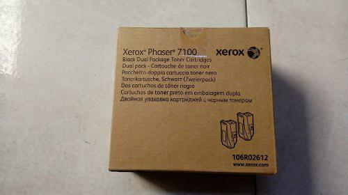 Toner xerox phaser 7100 106r02612 negro pack dual facturado