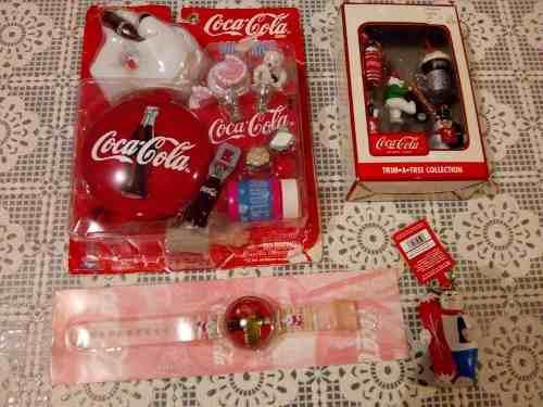 Coca cola vintage lote 4 pz