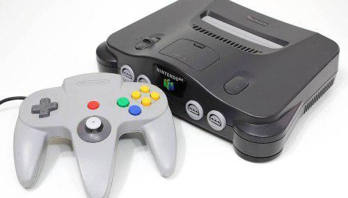 Nintendo 64 con pokémon completo todo original con control