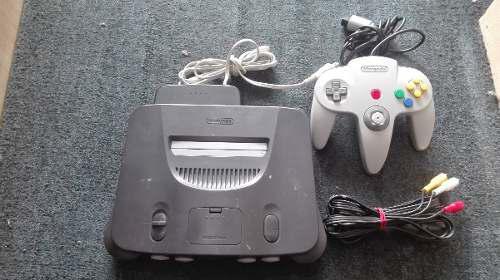Nintendo 64 japones completo,funcionando perfectamente