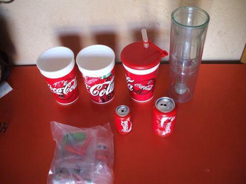 Pequeña coleccion coca cola de coca-cola cachivache