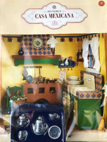 Crea y decora tu casa mexicana #7 planeta de agostini