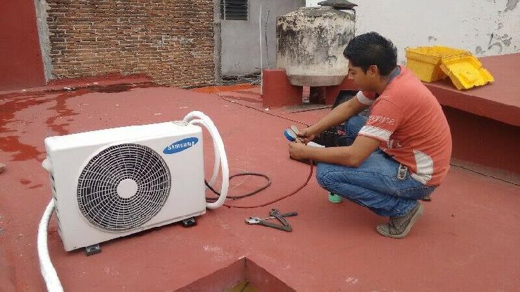 Reparación, instalación de climas minisplit en veracruz,
