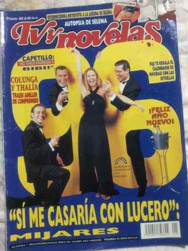 Revista tvynovelas lucero feliz año nuevo 96 lazos de amor