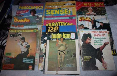 Revistas artes marciales. varios titulos. lote
