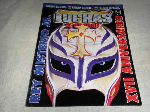 Rey misterio jr revista luchas 2000 especial de coleccion