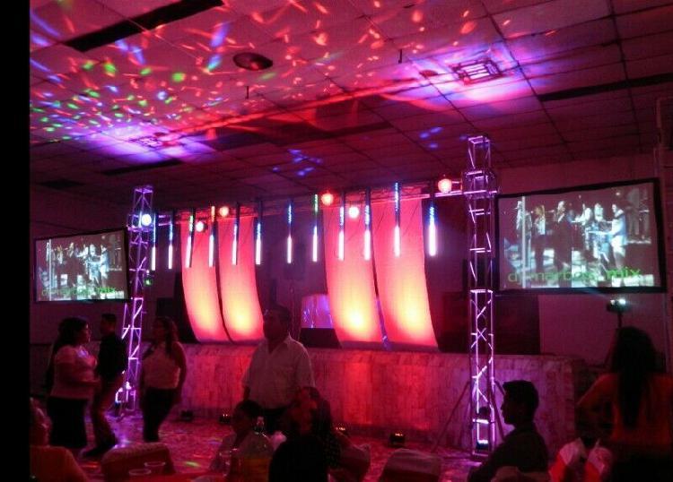 Sonido solaris paquete profesional special xv años y bodas.