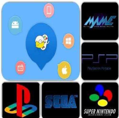 Kit de juegos android (ps1-nintendo-arcade-psp) todo en uno