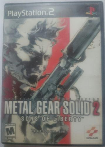 Metal gear solid 2 son of liberty