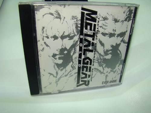 Metal gear soundtrack cd, game boy gbnes,snes,n64,ps3,psp,