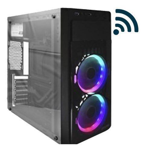 Pc gamer amd a10 3.4ghz 8gb 4 nucleos 500gb wifi dual fan