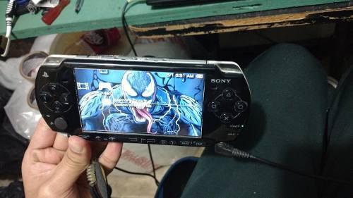 Psp slim playstation portátil 16gb lleno de juegos god