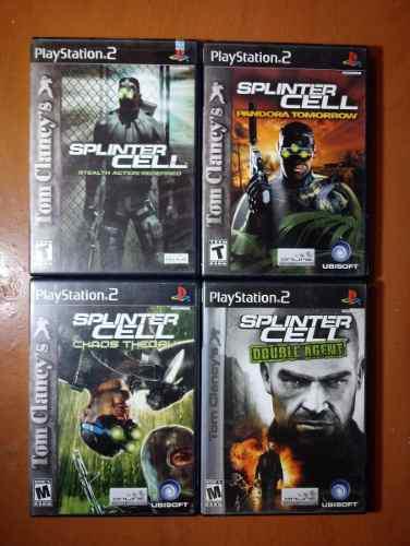 Splinter cell ps2 saga completa + el de psp - riki games