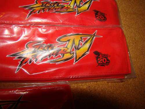 Street fighter iv ryu head band nes,snes,psp,ps3,xbox,ps2,gb
