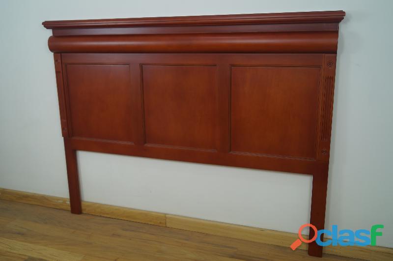Cabecera king de madera casa bonita muebles
