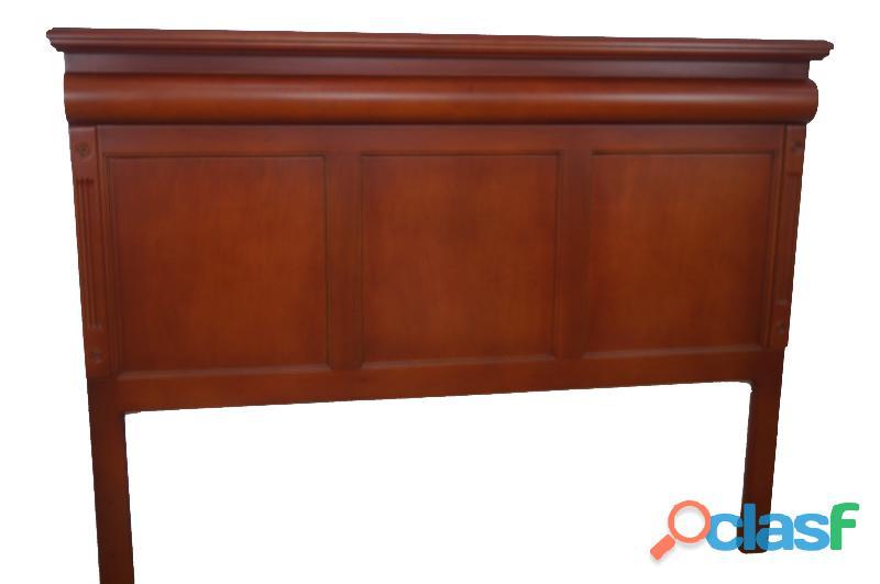 Cabecera matrimonial de madera casa bonita muebles