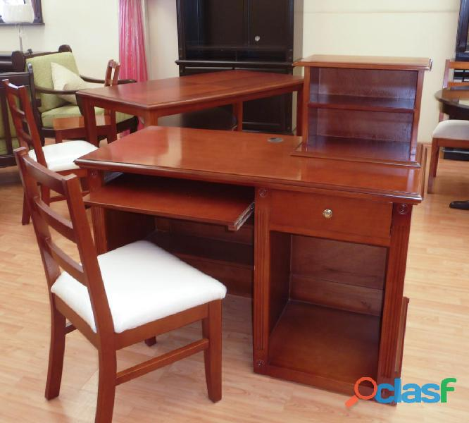 Escritorio Con Porta Impresora Bari Casa bonita Muebles 3