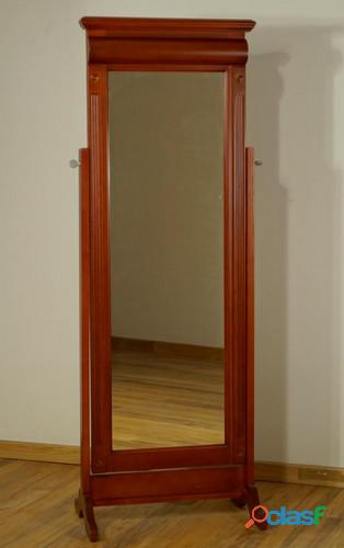 Espejo de pie de madera dorian casa bonita muebles