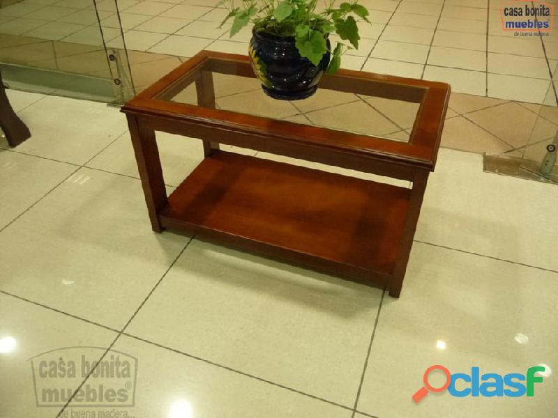 Mesa central acuario de madera casa bonita muebles