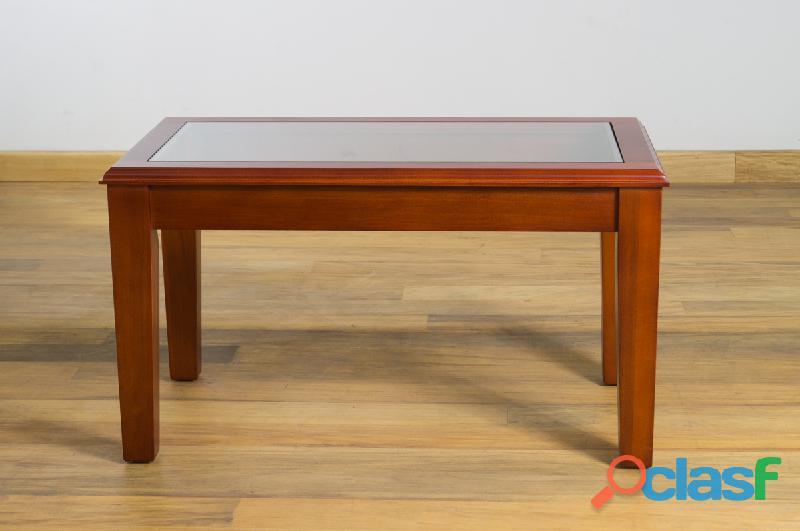 Mesa central niza de madera casa bonita muebles