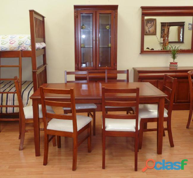 Mesa rectangular de 1.20x 80 casa bonita muebles