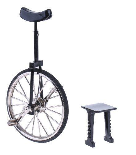 1:10 modelo de monociclo bici diecast aleación en