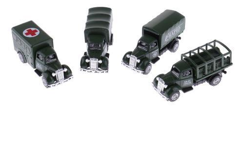 4 pedazos 1:64 juguetes modelo de coche diecast kids diecast
