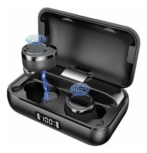 Audífonos tws bluetooth 5.0 con estuche de carga