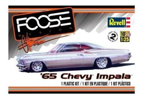 Auto revell escala 1/25 1965 chevy impala 14190 modelismo