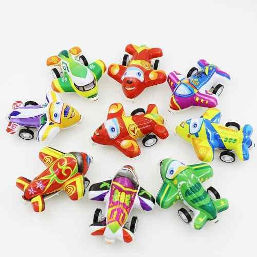 Avión juguetes 20 pack toddler juguetes avión push and go