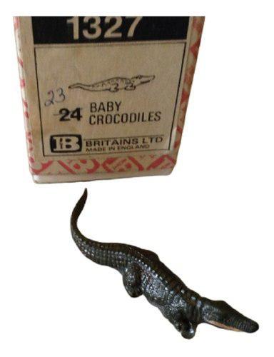 Britains animales #1327. cocodrilo bebe