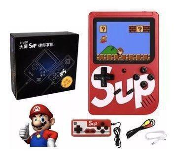 Consola tipo nintendo gameboy de 400 juegos + control