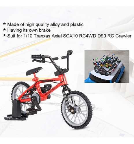 Decoración mini bicicleta de montaña modelo juguetes para