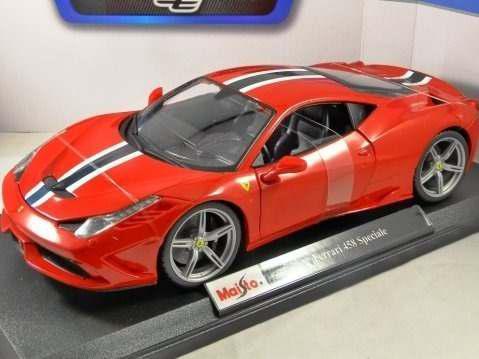 Ferrari 458 speciale escala 1/18