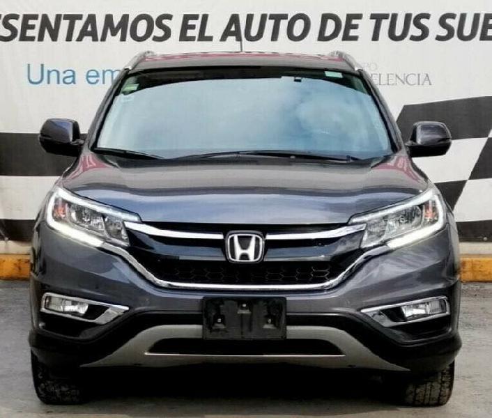 Honda crv 2015 version exl navy 4x4. único dueño. dos