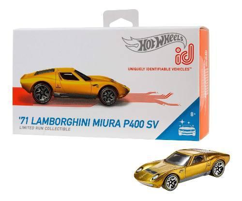 Hot wheels id 71 lamborghini miura p400 sv {factory fresh}