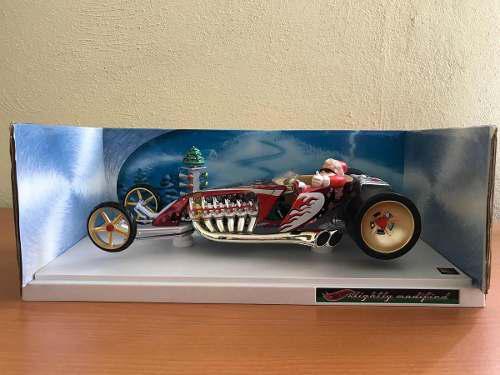 Hot wheels santa claus dragstar 2001 1:18