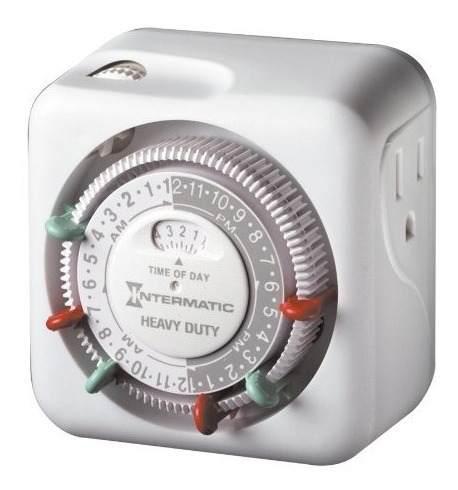 Intermatic tn311 temporizador de 15 amperios para luces inte