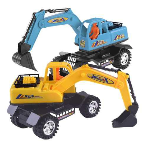 Niños camión modelo de coche juguetes camión excavadora